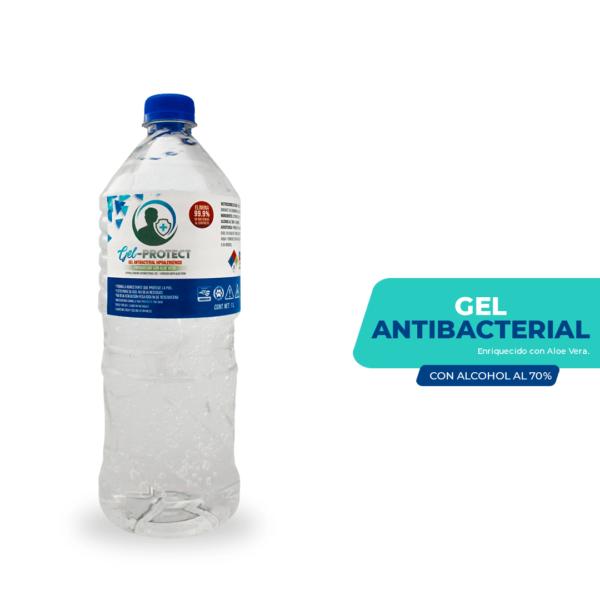 Gel antibacterial al 70